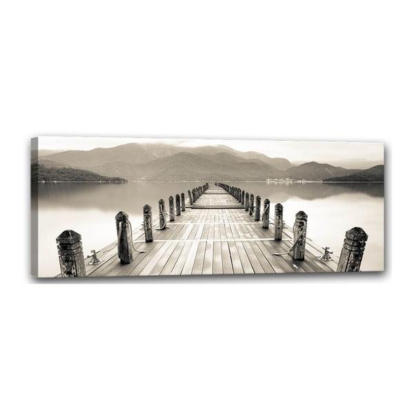 Obraz Styler Canvas Harmony Molo, 60 x 150 cm