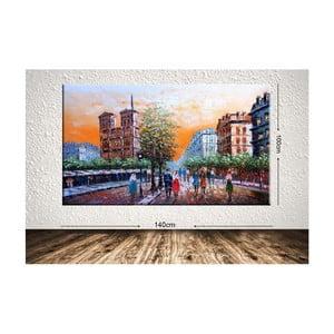 Obraz City Street, 100 x 140 cm