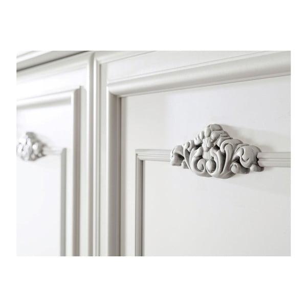 Bílá šatní skříň Romantic 2 Doors Wardrobe