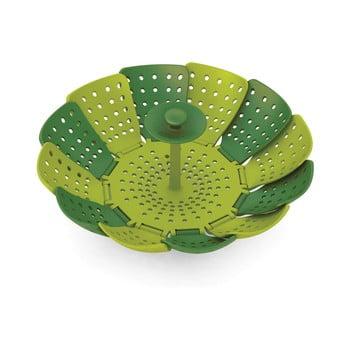 Steamer / sită pentru gătit cu aburi Joseph Joseph Lotus Plus, verde