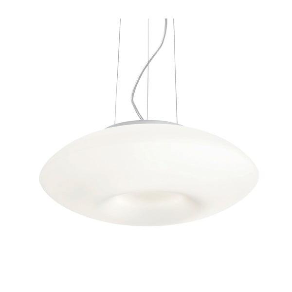 Bílé závěsné svítidlo Evergreen Lights Crido Blown