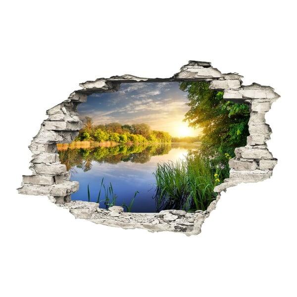 Naklejka ścienna Ambiance Jezero, 60x90 cm