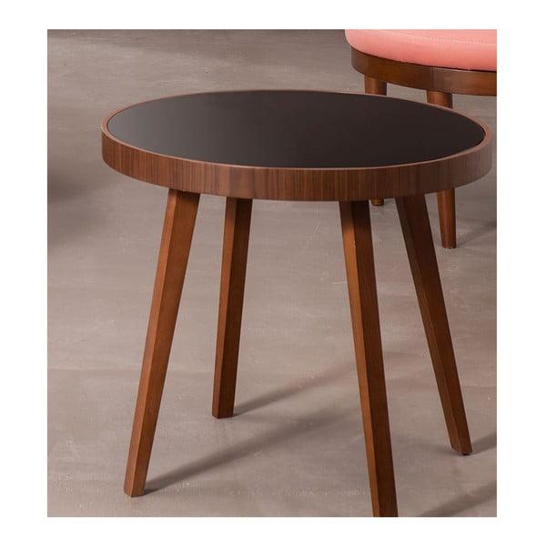 Odkládací stolek Anka Walnut
