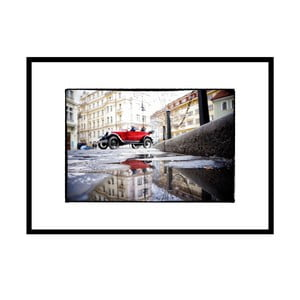 Červená, autorská fotografie Borise Stojanova (černý rám)