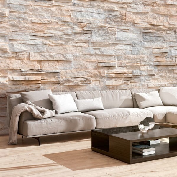 Tapet format mare Bimago Stone Gracefulness, 400 x 280 cm