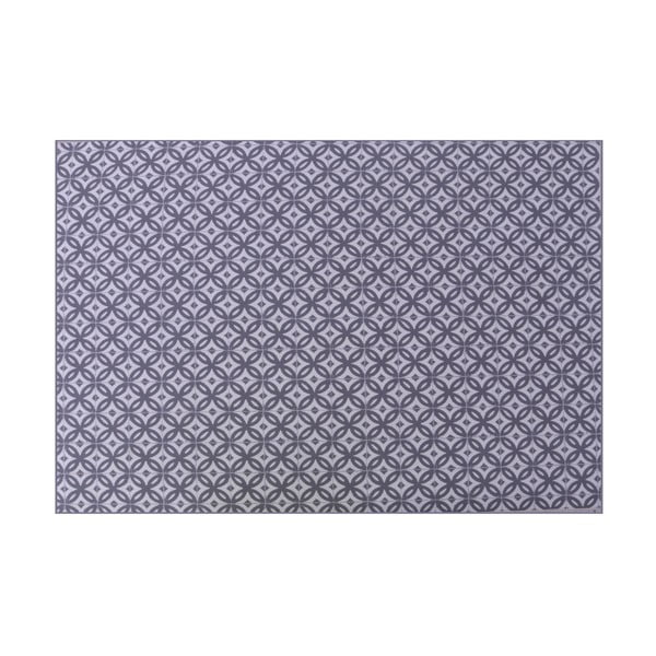 Antracitovosivý záhradný koberec Hartman Scotty, 170 × 120 cm