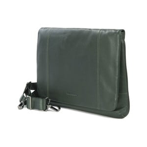 Zelená taška na rameno z italské kůže Tucano One