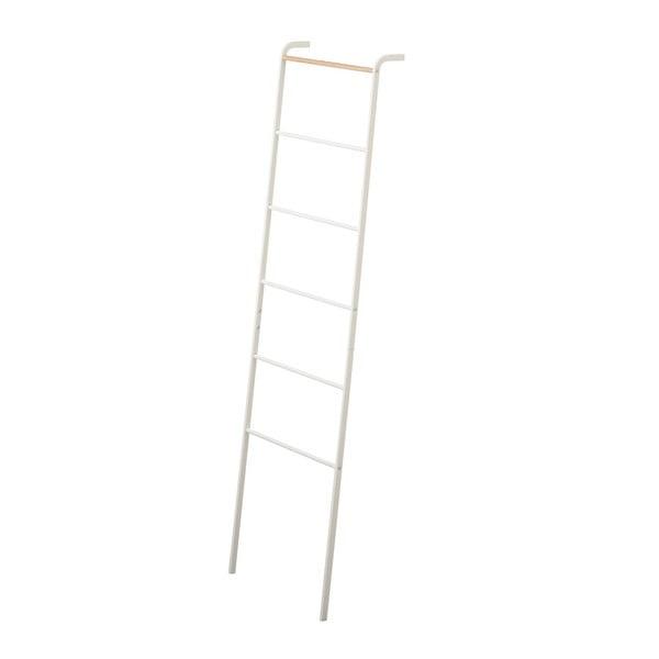 Bílý dekorativní žebřík YAMAZAKI Tower Ladder