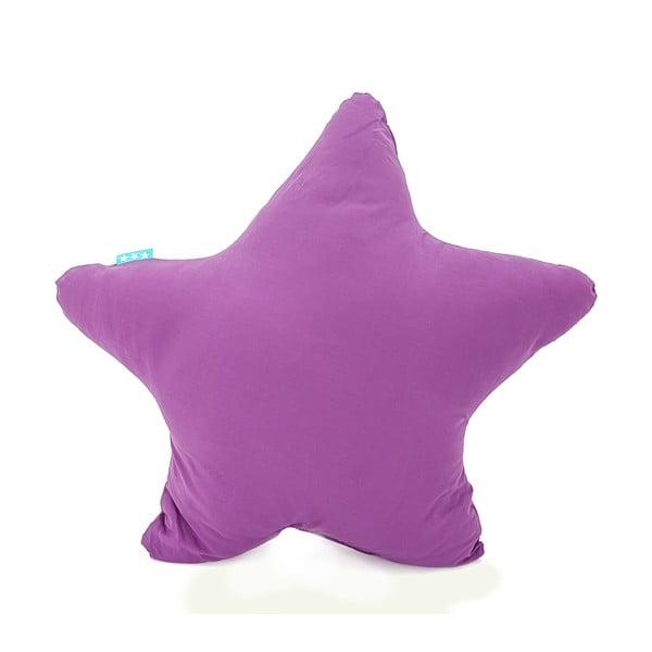 Fialový bavlněný polštářek Mr. Fox Estrella Lilac, 50x50cm