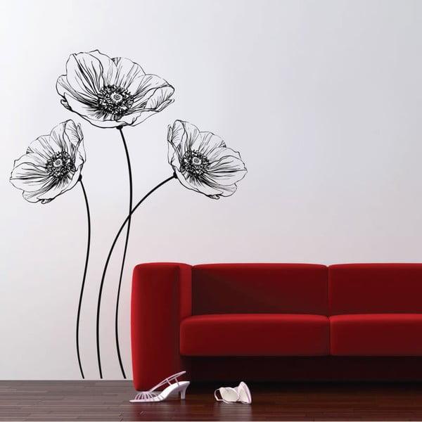 Dekorativní samolepka na zeď Poppy