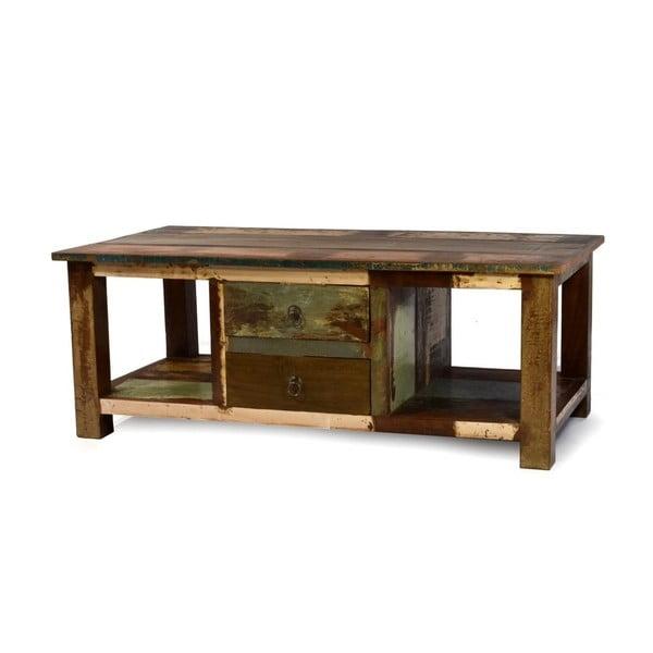 Stolek z teakového dřeva Goa, 120x63 cm