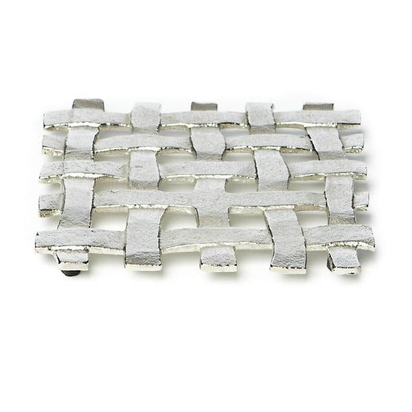 Raw ezüstszínű edényalátét, 17 x 17 cm - Simla