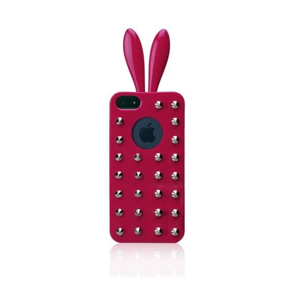Rabito obal na iPhone 5 Stud Case, růžový