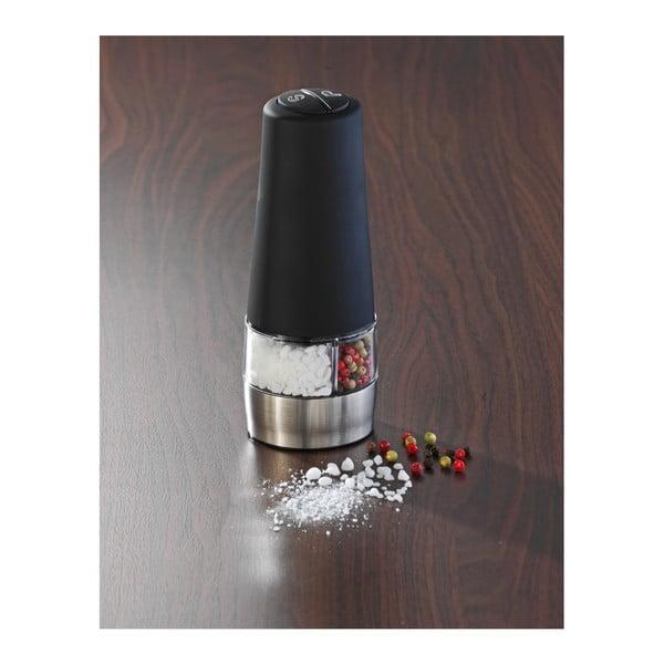 Râșniță dublă pentru sare și piper Wenko Mill, negru