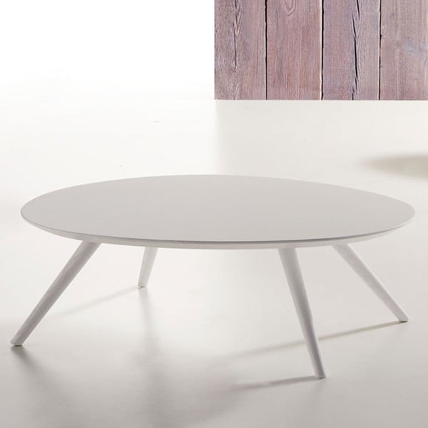 Biely konferenčný stolík Zago Thin