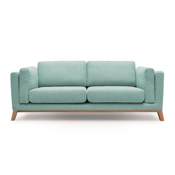 Jasnoniebieska sofa 3-osobowa Bobochic Paris Enjoy