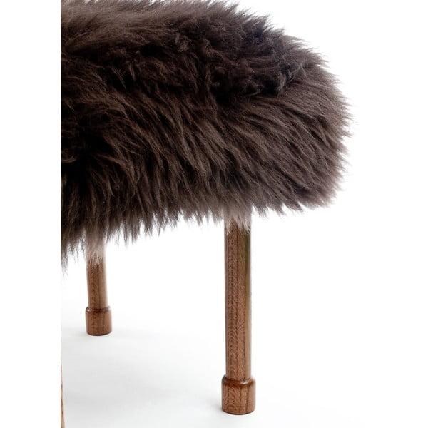 Stolička z ovčí kůže MyfanwyMink