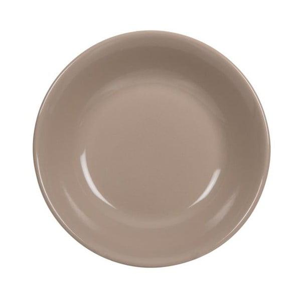 Sada 18 ks keramických talířů Tribe Brown