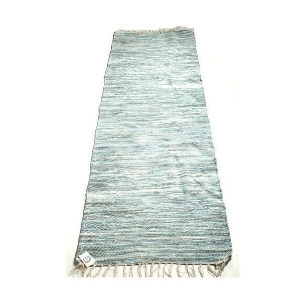 Koberec Stripes 70x200 cm, světle modrý