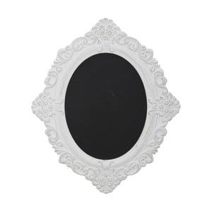 Popisovací tabule v bílém rámu Mauro Ferretti Bruxelles,výška 59cm