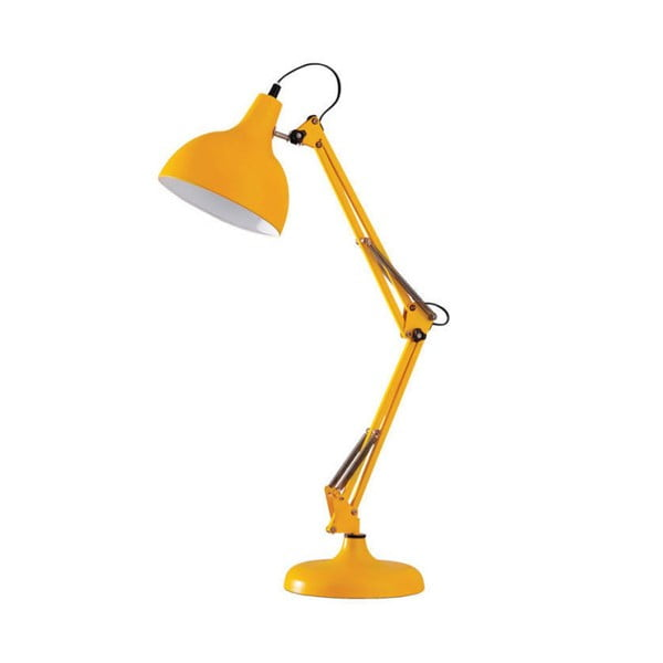 Stolní lampa Dave, žlutá