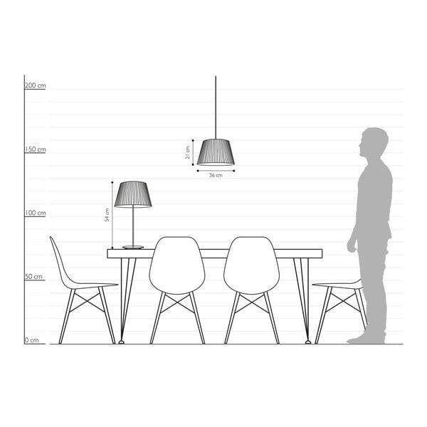 Bílá stolní lampa Sotto Luce KAMI Elementary M 1T