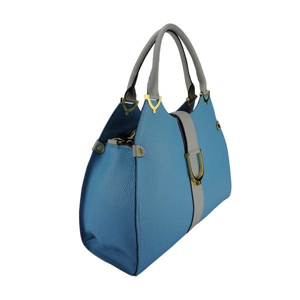 Kožená kabelka Sonia Light Blue