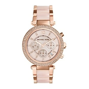 Ceas de damă Michael Kors Blush, roz-roz auriu imagine