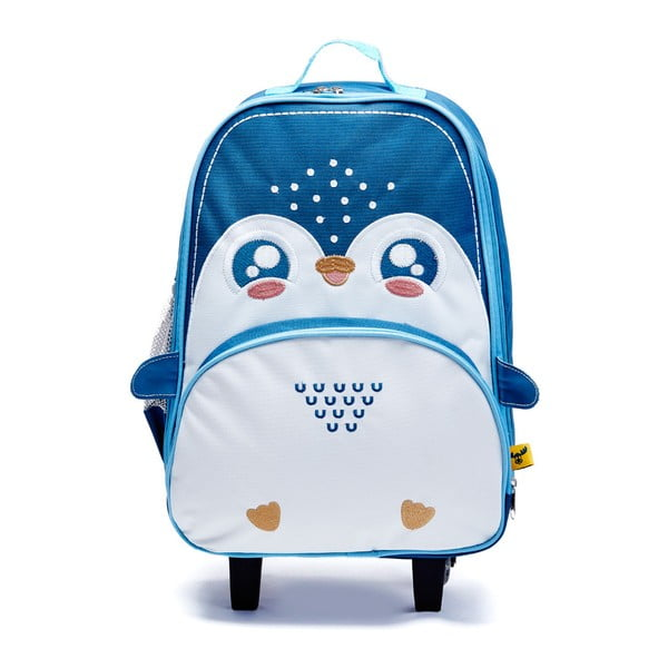 Dětský kufr Lucky Little Moose Tučňák Philip