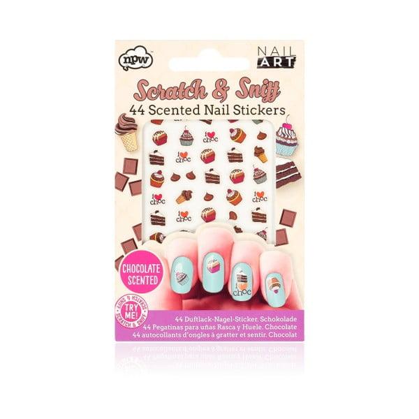 Sada nalepovacích samolepek na nehty npw™ Chocolate Scratch And Sniff