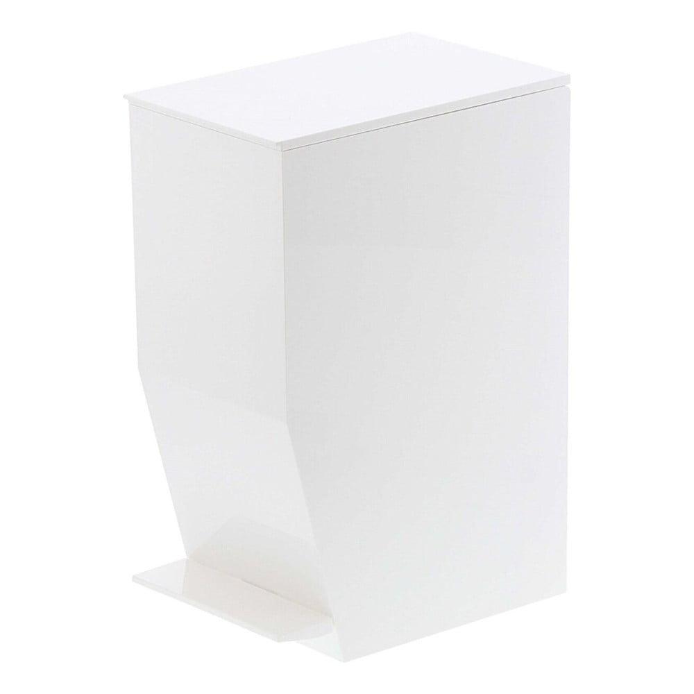 Bílý odpadkový koš do koupelny YAMAZAKI,390ml YAMAZAKI