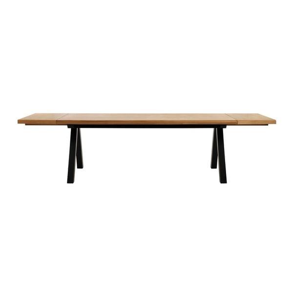 Zestaw 2 dodatkowych blatów do stołu z drewna białego dębu Unique Furniture Oliveto