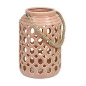 Felinar din ceramică Santiago Pons Farol, roz