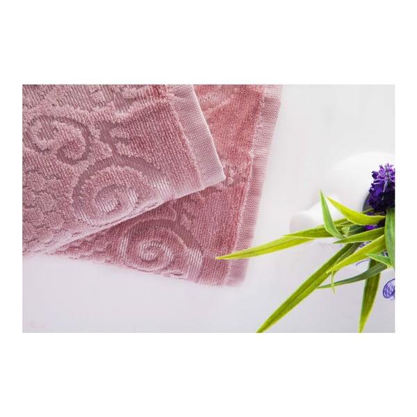 Sada 2ks ručníků Acustic Rose, 50x90 cm