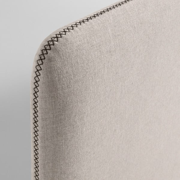 Béžová dvoulůžková postel La Forma Lydia, 200x160cm