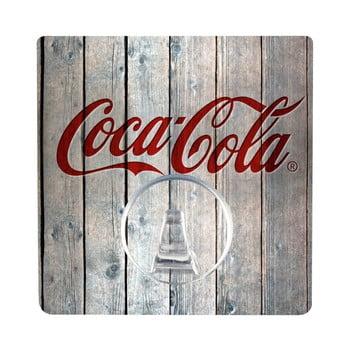 Cuier autoadeziv Wenko Static-Loc Coca-Cola Wood de la Wenko