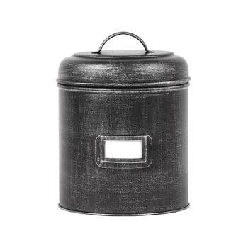 Recipient metalic LABEL51, ⌀13,5cm, negru imagine