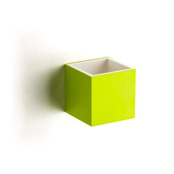Nástěnný box QUALY Pixel Box, zelený