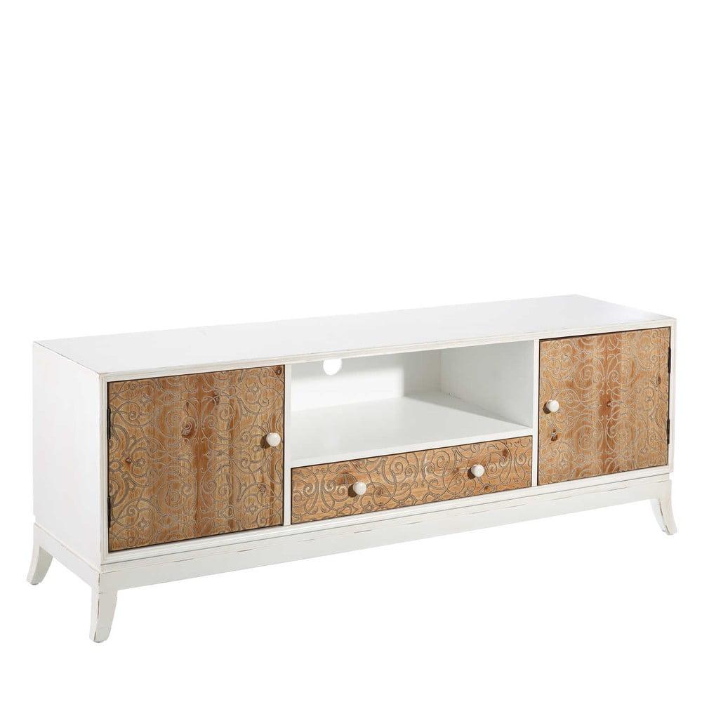 TV stolek ze smrkového dřeva Tropicho