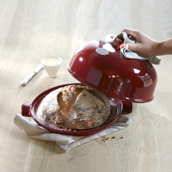 Set na pečení chleba Emile Henry, červený
