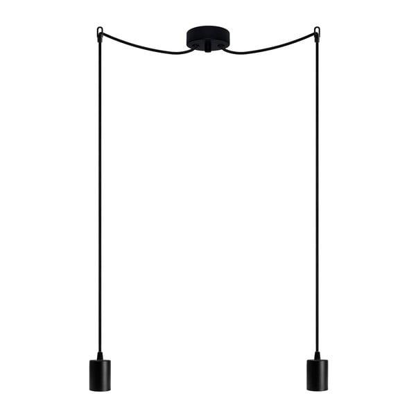 Dvojité závěsné kabely Cero, černá/černá/černá
