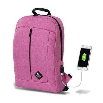 Rucsac cu port USB My Valice GALAXY Smart Bag, roz de la Myvalice