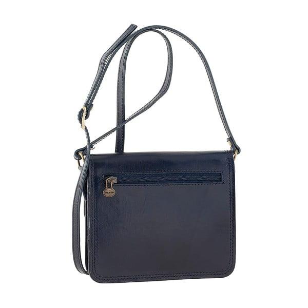 Modrá kožená kabelka Ore Diece Agrigento