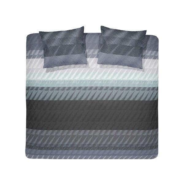 Povlečení Pleat Grey, 240x200 cm