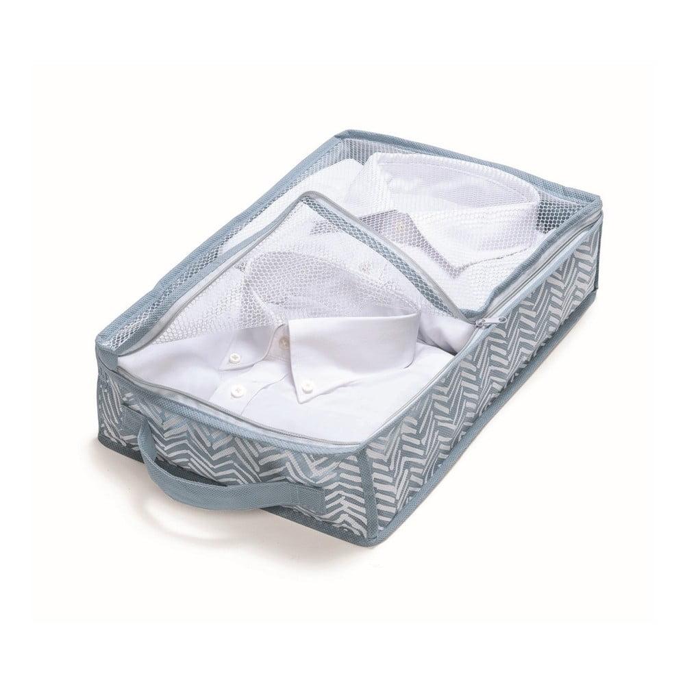 Modrý úložný box Cosatto Tweed, šířka 26 cm