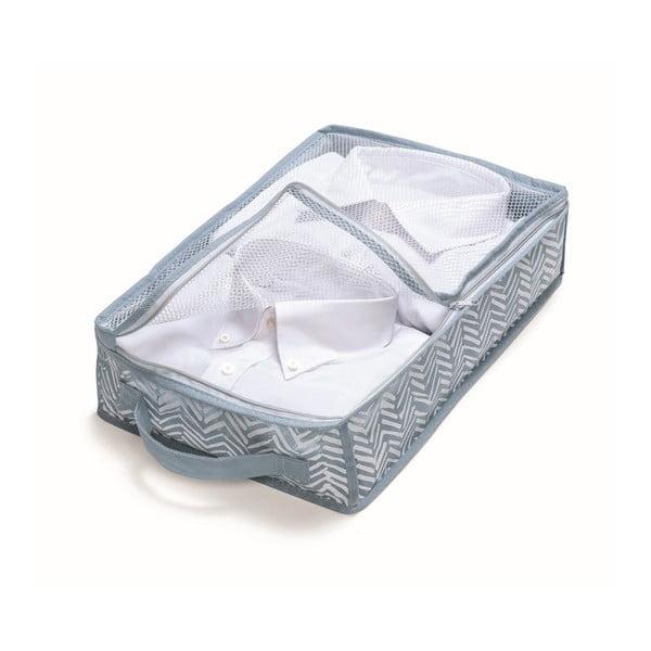 Modrý úložný box Cosatto Tweed, šířka26cm