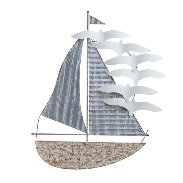 Nástěnná kovová dekorace InArt Marino