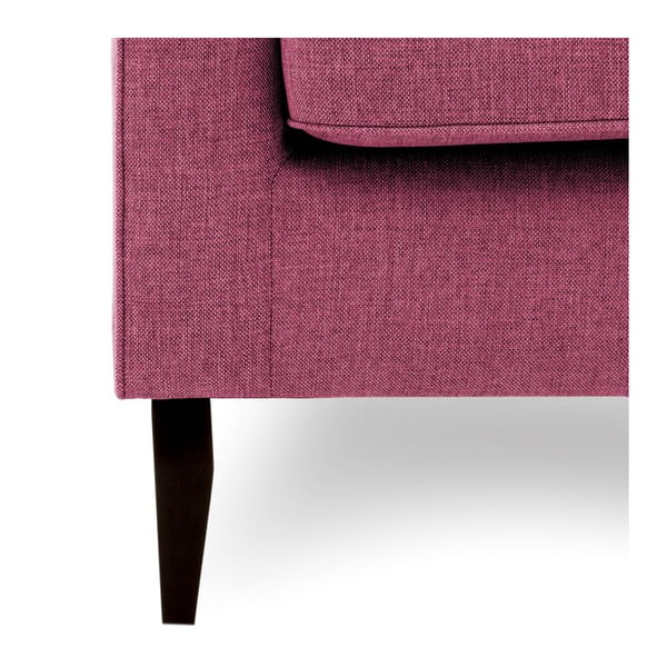 Canapea cu 2 locuri Vivonita Bond, roz