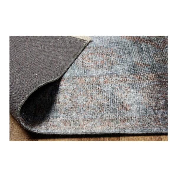 Covor Eco Rugs Diane, 120 x 180 cm, albastru - gri