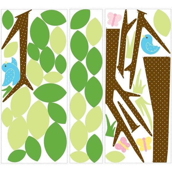 Samolepka na zeď Dotted Tree
